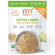 NurturMe, Organic Quinoa Cereal, Quinoa + Apple, Infant, 3.7 oz (104 g)