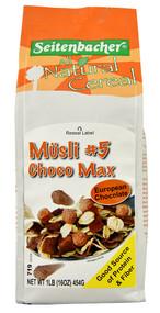 Seitenbacher, All Natural Cereal Musli #5,  Choco Max - 1 lb