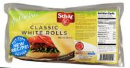 Schar, Classic White Rolls Gluten Free - 4 Rolls