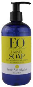 EO Essential Oil Products, Liquid Hand Soap Lemon & Eucalyptus - 12 fl oz