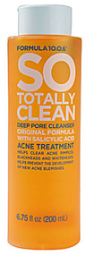 5 PACK of Formula 10-0-6 SO Totally Clean Deep Pore Cleanser - 6.75 fl oz