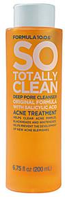 3 PACK of Formula 10-0-6 SO Totally Clean Deep Pore Cleanser -- 6.75 fl oz