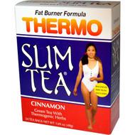 3 PACK of Hobe Labs, Thermo Slim Tea, Fat Burner Formula, Cinnamon, 24 Tea Bags, 1.69 oz (48 g)