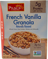 Peace Cereal French Vanilla Granola - 11 oz (5 PACK)