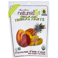 3 PACK of Natierra Natures All , Organic Freeze-Dried, Tropical Fruits, 1.5 oz (42.5 g)