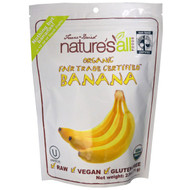 3 PACK of Natierra Natures All , Organic Freeze-Dried, Fairtrade Certified Bananas, 2.5 oz (71 g)