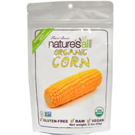 3 PACK of Natierra Natures All , Organic Freeze-Dried, Corn, 2.3 oz (65 g)