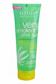 3 PACK of Alba Botanica, Very Emollient, After Sun, 98% Aloe Vera Gel, 8 oz (227 g)