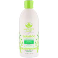 Natures Gate, Shampoo, Shine Enhancing, Jasmine + Kombucha, 18 fl oz (532 ml)