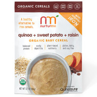 3 PACK of NurturMe, Organic Quinoa Cereals, Quinoa + Sweet Potato + Raisin, Infant, 3.7 oz (104 g)