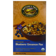 3 PACK of Natures Path, Organic Optimum Power Cereal, Blueberry Cinnamon Flax, 14 oz (400 g)