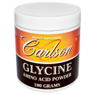 Carlson Labs, Glycine, Amino Acid Powder, 100 g (5 PACK)