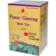 3 PACK of Health King, Panax Ginseng Herb Tea, 20 Tea Bags, 1.20 oz (34 g)