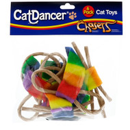 3 PACK OF Cat Dancer, Chasers, Cat Toys, 6 Pack