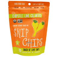 5 PACK of Sejoyia Foods, Snip Chips, Parsnip Coconut Snack Mix,Chipotle Lime Cilantro, 2 oz (56 g)