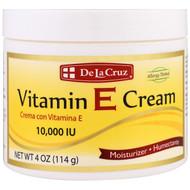 3 PACK OF De La Cruz, Vitamin E Cream, 10,000 IU, 4 oz (114 g)