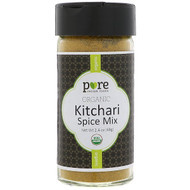 3 PACK OF Pure Indian Foods, Organic Kitchari Spice Mix, 2.4 oz (68 g)
