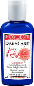 Eco-dent, DailyCare Toothpowder, Cinnamon - 2 oz (5 PACK)