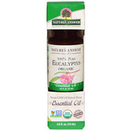 3 PACK OF Natures Answer, Organic Essential Oil, 100% Pure Eucalyptus, 0.5 fl oz (15 ml)