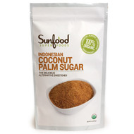3 PACK of Sunfood, Indonesian Coconut Palm Sugar, 454 g