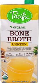 Pacific Natural Foods Organic Bone Broth Chicken - 32 fl oz