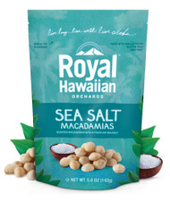 Royal Hawaiian Orchards, Macadamias,  Sea Salt - 5 oz
