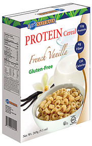 3 PACK of Kays Naturals Protein Cereal French Vanilla -- 9.5 oz