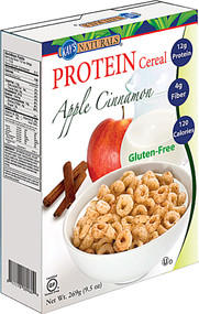 3 PACK of Kays Naturals Protein Cereal Apple Cinnamon -- 9.5 oz
