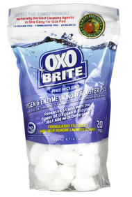 Earth Friendly, Products OxoBrite Laundry Booster Pods Free and Clear - 20 Pods