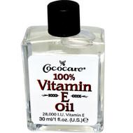 3 PACK of Cococare, 100% Vitamin E Oil, 28,000 IU, 1 fl oz (30 ml)