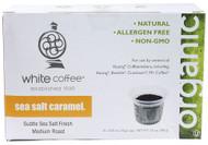 White Coffee, Single Serve Coffee,  Sea Salt Caramel - 10 K-Cups