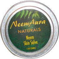 3 PACK of NeemAura, Neem Skin Salve, 1 oz (30 ml)