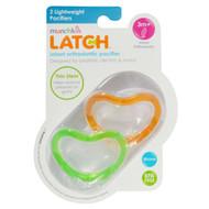 Munchkin, Latch, Lightweight Pacifiers, 3 + Months, 2 Pacifiers