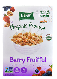 Kashi, Organic Promise Cereal,  Berry Fruitful - 15.6 oz