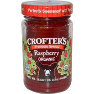3 PACK of Crofters Organic, Organic Premium Spread, Seedless Raspberry, 16.5 oz (468 g)