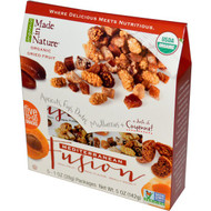 3 PACK of Made in Nature, Organic Fruit Fusion, Mediterranean Supersnacks, 5 Packages, 1 oz (28 g) Each