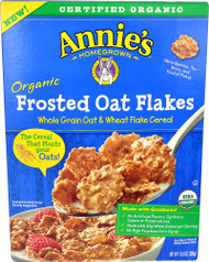 Annies Homegrown Organic Frosted Oat Flakes Cereal - 10.8 oz