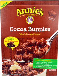 Annies Homegrown Cocoa Bunnies Whole Grain Cereal - 10 oz