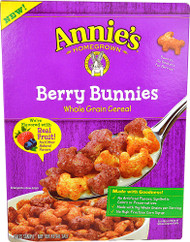 Annies Homegrown Berry Bunnies Whole Grain Cereal - 10 oz