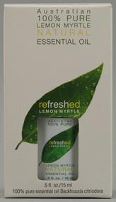 Tea Tree Therapy, 100% Natural Essential Oil Lemon Myrtle - 0.5 fl oz