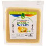 3 PACK OF NUCO, Coconut Wraps, Turmeric , 5 Count, 2.47 oz (70 g)