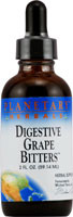3 Pack of Planetary Herbals Digestive Grape Bitters - 2 fl oz