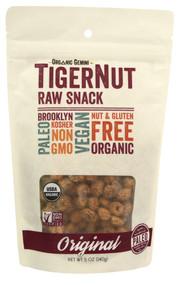 Organic Gemini, TigerNut Raw Snack, Original - 5 oz (5 PACK)