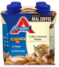 Atkins RTD Shake Cafe Caramel - 4 Shakes