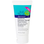 3 PACK of Derma E, Vitamin E Intense Moisture Hand Cream, 2 oz (56 g)