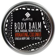 3 PACK of Alaffia, Body Balm, Hydrating Coconut, 1.5 oz (43 g)