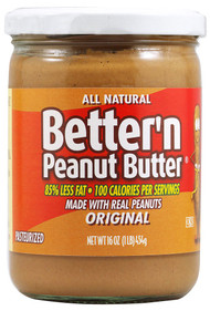 Better N Peanut Butter, Original Creamy - 16 oz
