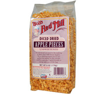 Bobs Red Mill, Diced Dried Apple Pieces, Unsweetened, 6 oz (170 g)