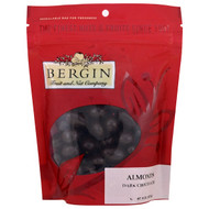 3 PACK OF Bergin Fruit and Nut Company, Almonds, Dark Chocolate, 8 oz (227 g)