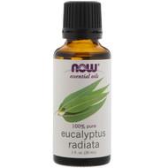 3 PACK OF Now Foods, Essential Oils, Eucalyptus Radiata, 1 fl oz. (30 ml)